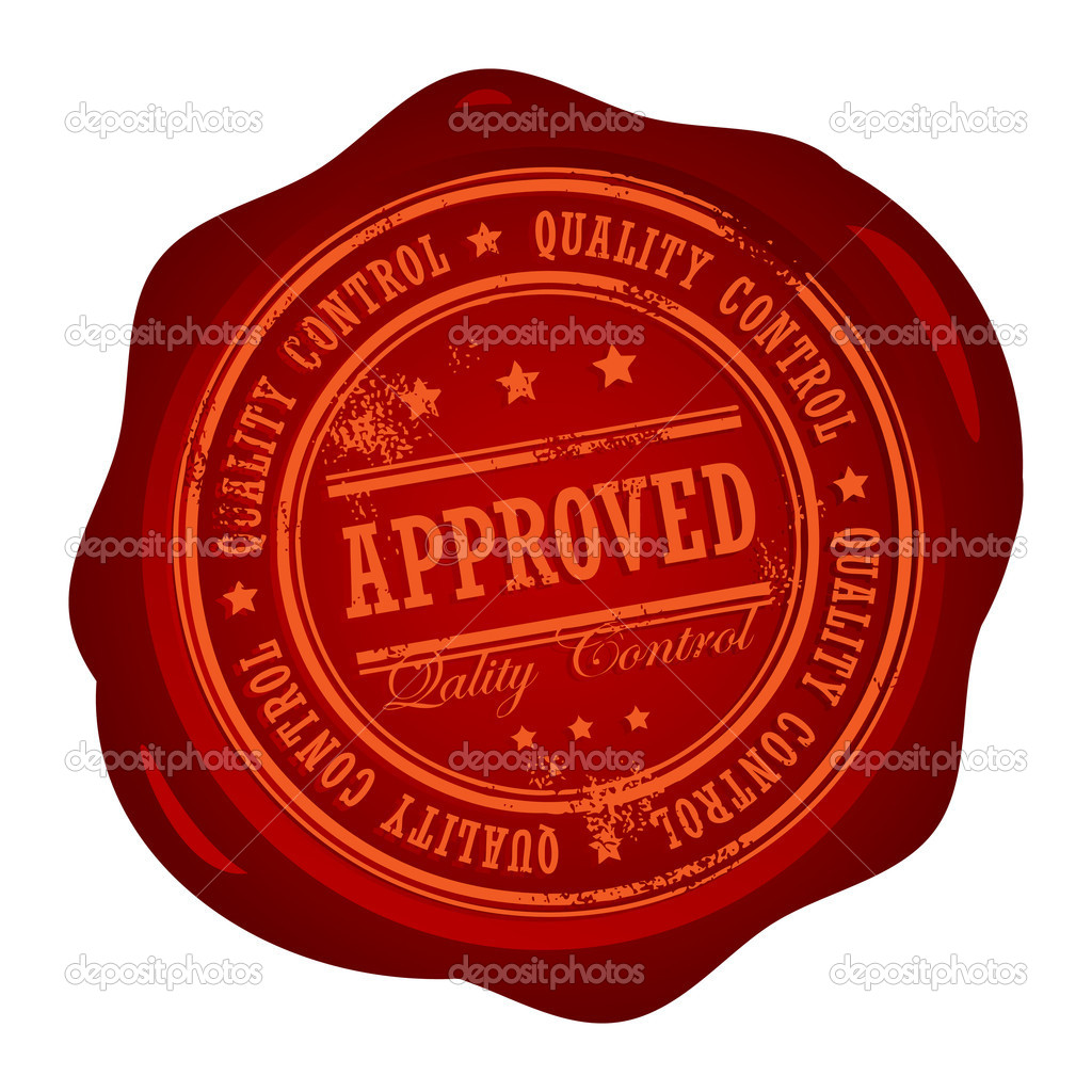 Approved Stamp Stock Vector 169 Fla 11573318