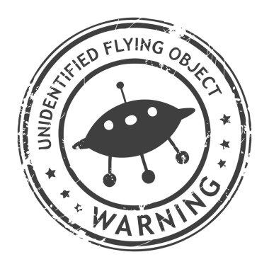 UFO stamp