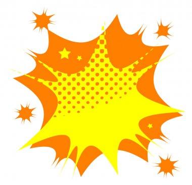 Abstract star burst