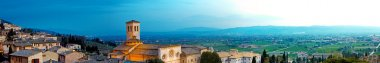 Panoramic View of Assisi Italy