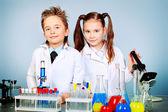 Fotografia scienza di bambini