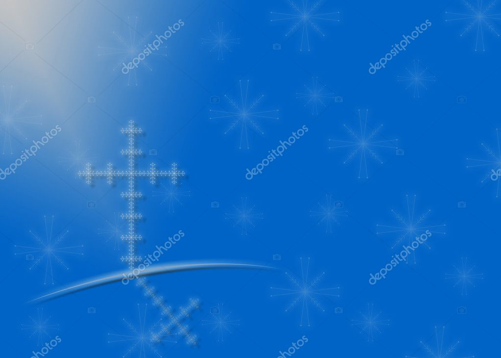 Religious Christmas background — Stock Photo © ftlaudgirl #11080617