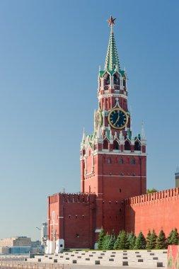 Spaska tower. Kremlin. Moscow.