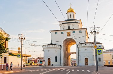 In 2012. Russia. The city of Vladimir. Golden Gate.