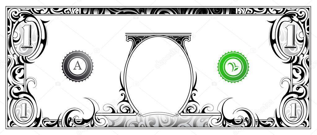 clipart dollar bill dollar bill stock vector 169 akv lv