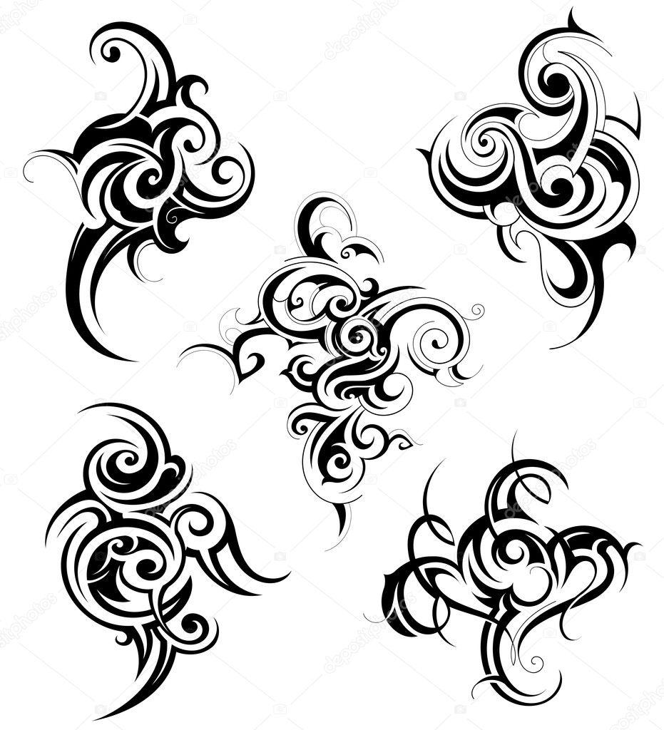 Set of tribal art