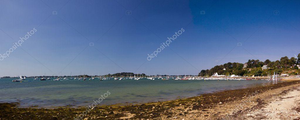 Morbihan Gulf - beach panorama