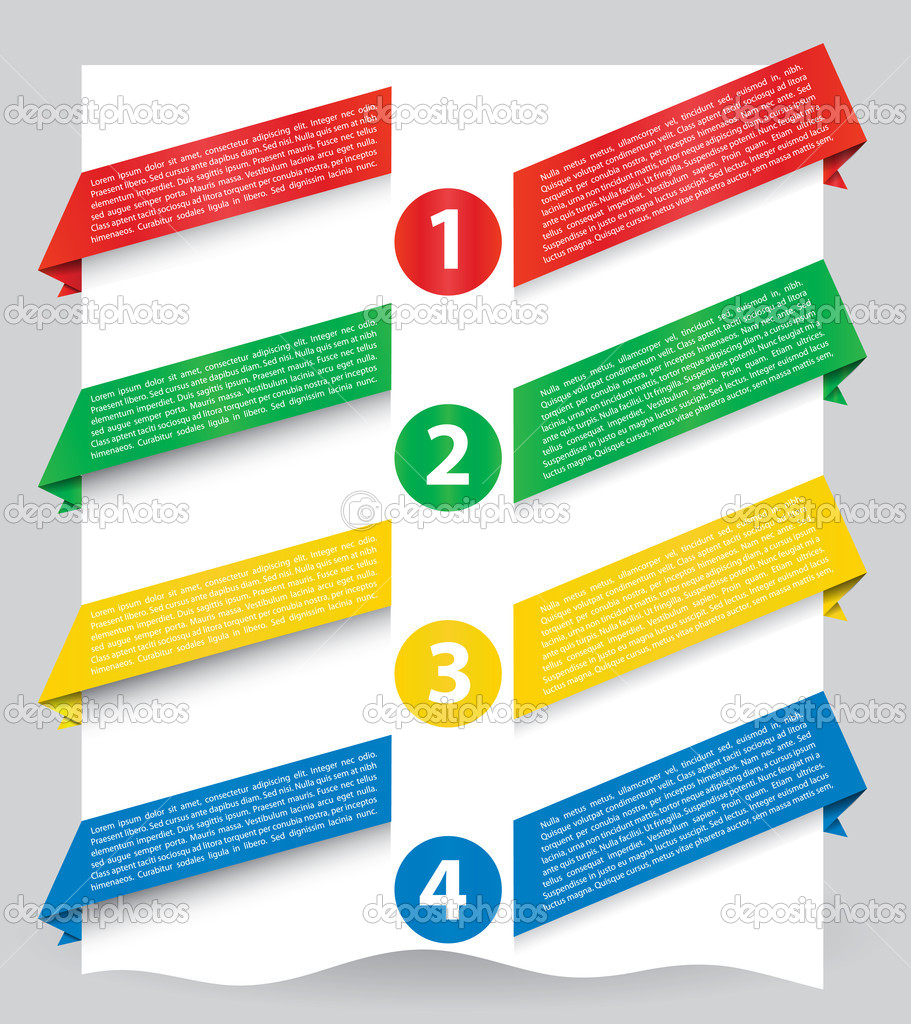Design a banner for your website - Illustration Of Different Colored Web Banners For Your Website Vector By Moniquemk