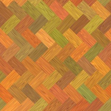 Multicolor parquet