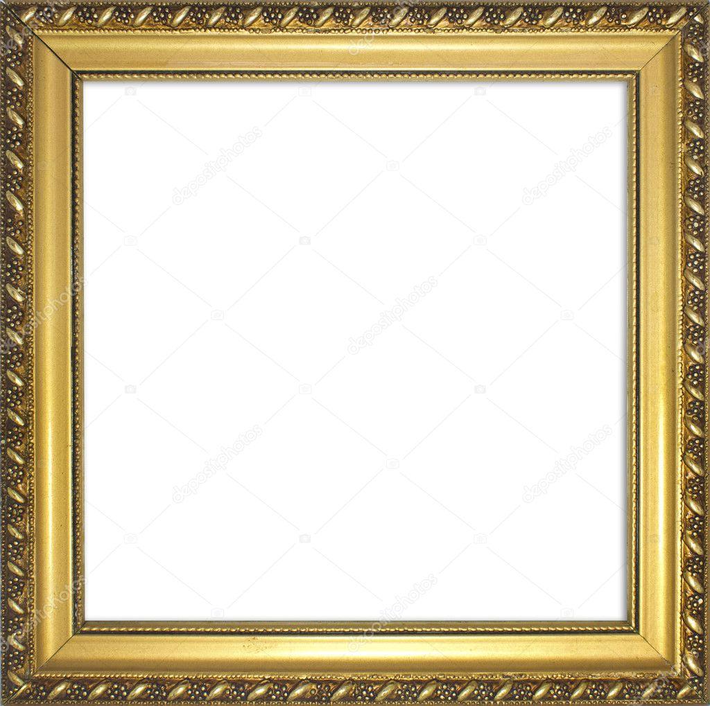 Golden frame — Stock Photo © rangreiss #10892324