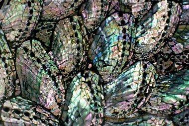 Closeup fragment of vase