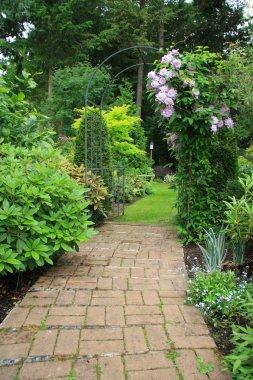 Pretty garden path