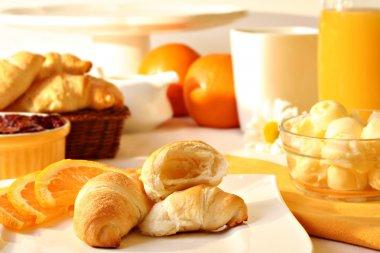 Sunny morning breakfast