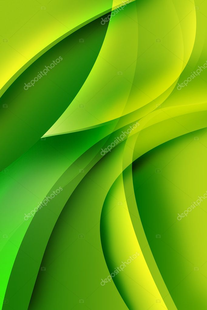 Nature green abstract