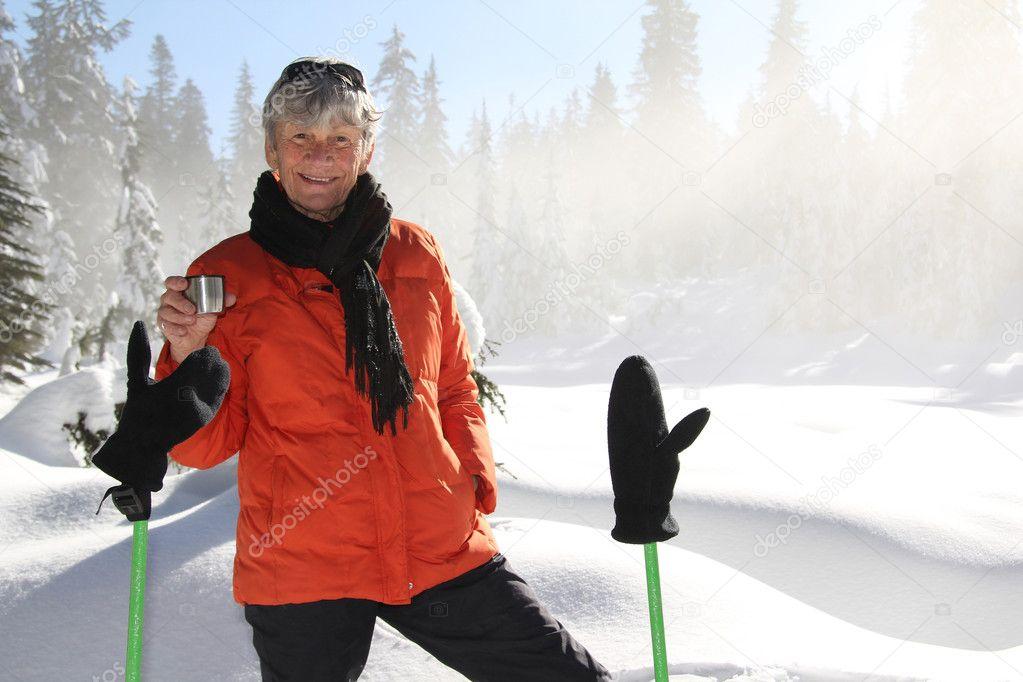 Snowshoeing retirement