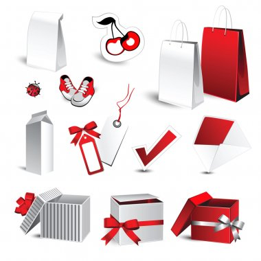 Gifts and Shopping Icon