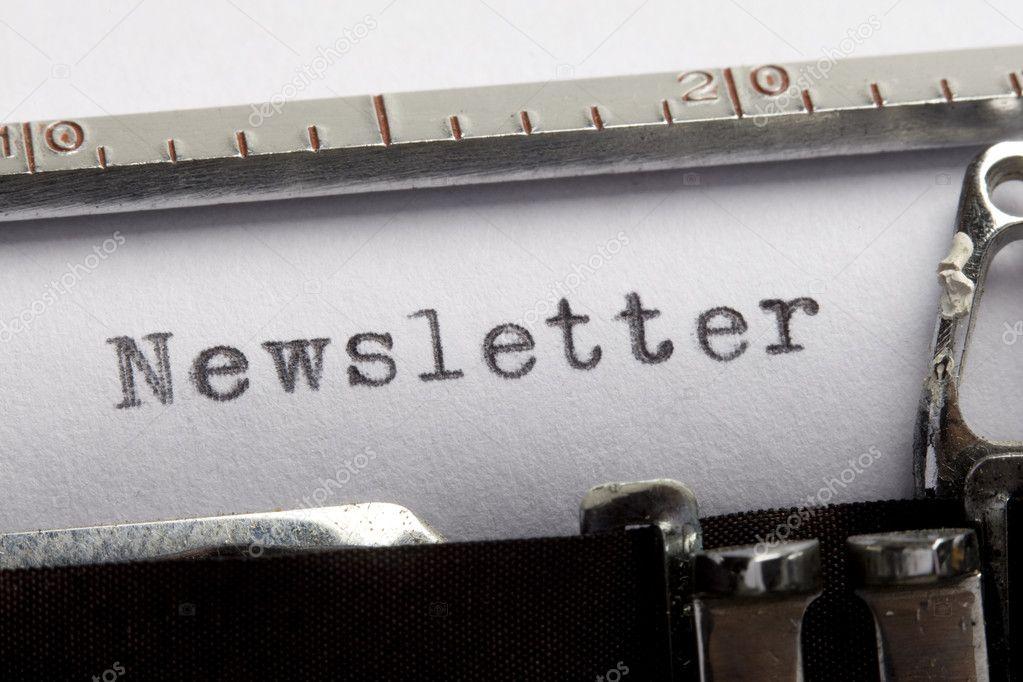 Newsletter content