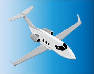 Airplane vector stock vector