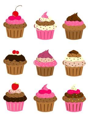 Cup cake set