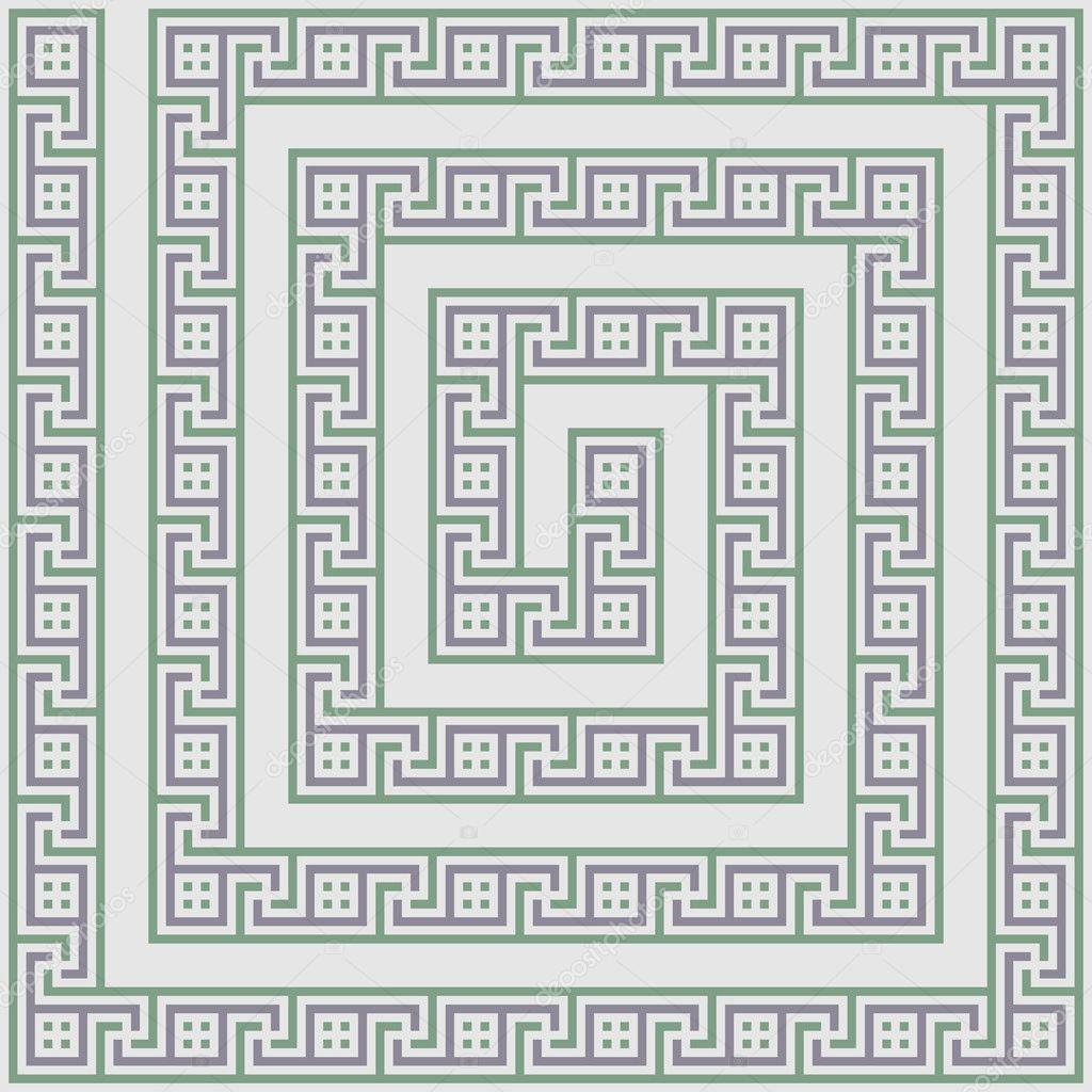 экономическое рисунки лабиринта из древней греции пятна, сыпь волдыри