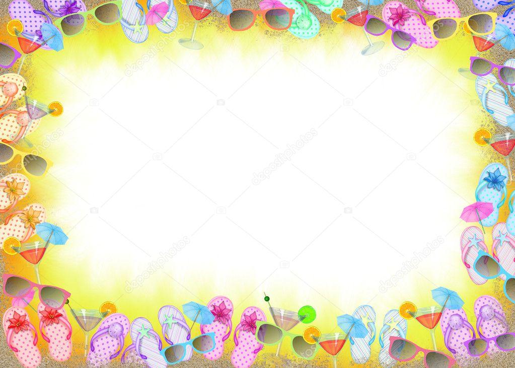 Flip-Flop frame — Stock Photo © jentara #11050995
