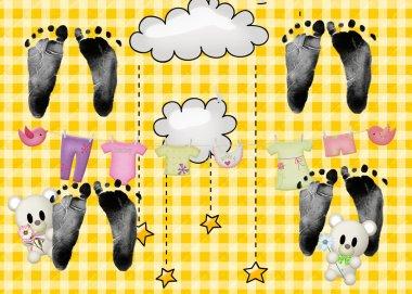 Quadruplet footprint
