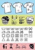 Handhabung und Pflege der Kleidung