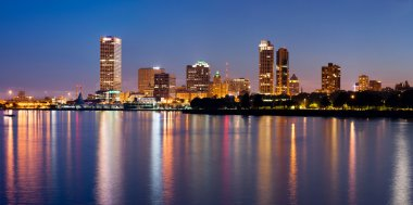 City of Milwaukee skyline.