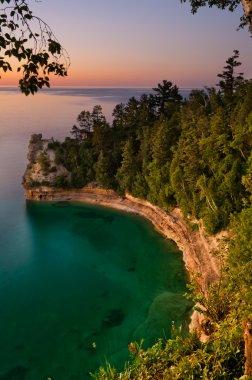 Lake Superior Sunset.