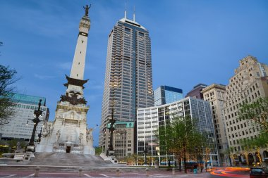 Monument Circle, Indianapolis, Indiana