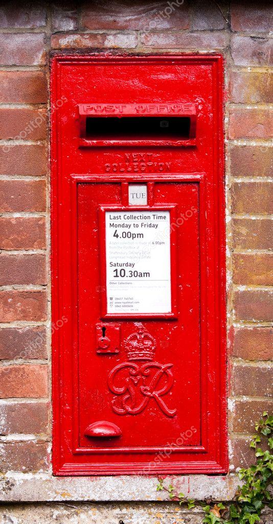 Englischer Briefkasten Stockfoto Chrispo 11069083