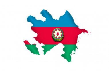 Republic of Azerbaijan map