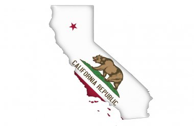 State of California map
