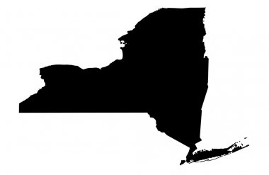 State of New York map