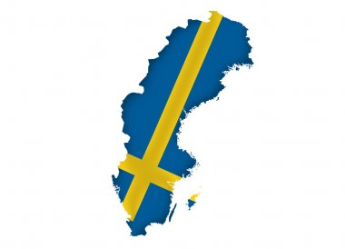Kingdom of Sweden map