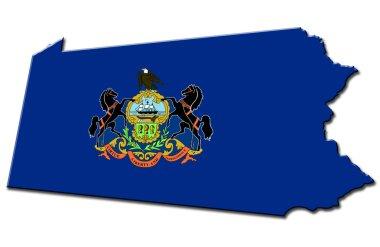 Pennsylvania stock vector
