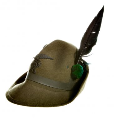 Alpino hat of italian military police