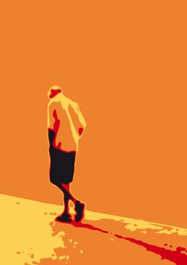 Man who walks alone