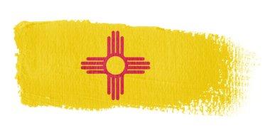 Brushstroke flag New Mexico