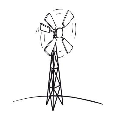 Old wind turbine
