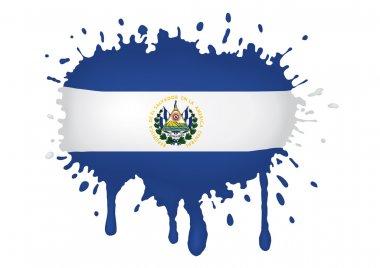 El Salvador flag sketches