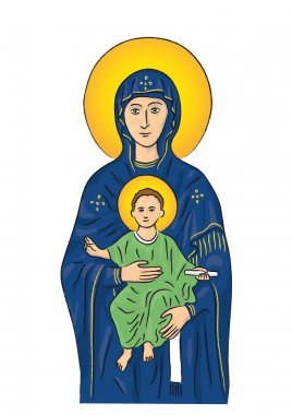 Mary and Jesus