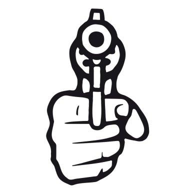 Gun that shoots