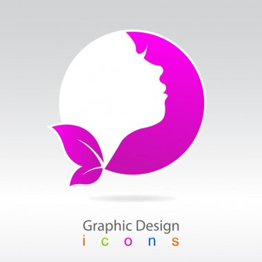 Graphics design sign health. clip art vector