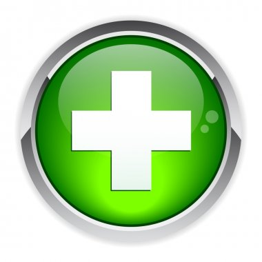 Bouton internet health icon