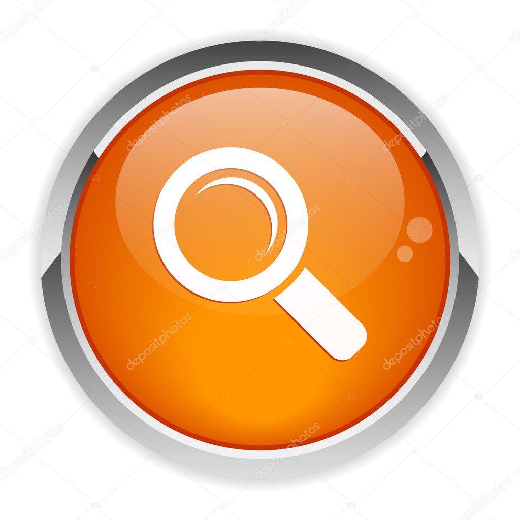 Bouton internet loupe zoom icon