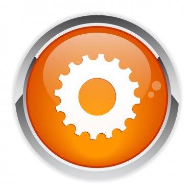 Button web settings icon