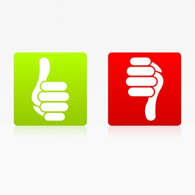 Icon Like Thumb Up Down Buttons