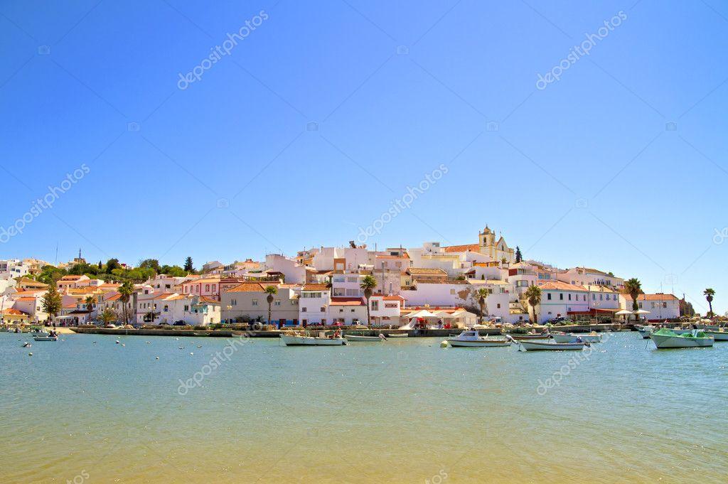 The village Ferragudo in Portugal