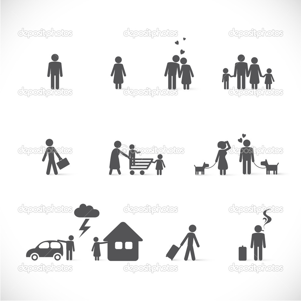 Love situations - figure set